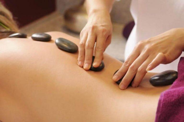 Curso masaje con piedras